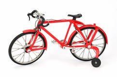 allez à vélo le rouge Image libre de droits