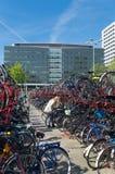 Allez à vélo le stationnement Photo stock