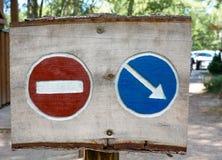 Allez aucun vont signe Image libre de droits