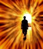 Allez vers la lumière Image libre de droits
