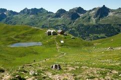 Allgäuer Alpen,德国 免版税库存照片