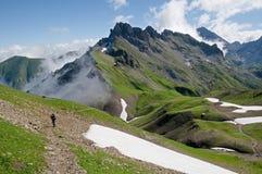 Allgäuer Alpen, Alemania Fotos de archivo