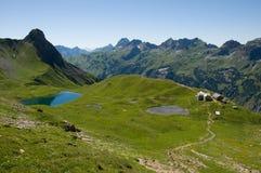 Allgäuer Alpen, Alemania Imagenes de archivo