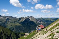 Allgäuer Alpen , Germany Royalty Free Stock Photo