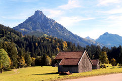 The Allgaeu in autumn Stock Photography