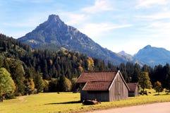 Allgaeu in de herfst Stock Fotografie