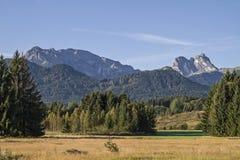 Allgaeu landscape Stock Images