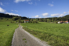 Allgau Bavaria Royalty Free Stock Photo