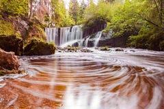 Allgau della cascata Fotografia Stock