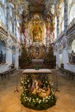 ALLGAU, GERMANY, DECEMBER 2012: Pilgrimage Church of Wies (Wies Stock Photos