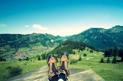 Allgau Hiking Stock Image