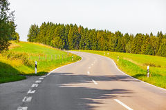 Allgau road Stock Image