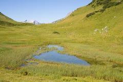 Allgauer Alpen Fotografie Stock Libere da Diritti