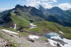 Allgauer Alpen Immagini Stock Libere da Diritti