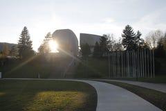 Allgemeine Ansicht des Museums des slowakischen nationalen Aufstiegs lizenzfreies stockfoto
