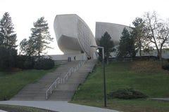 Allgemeine Ansicht des Museums des slowakischen nationalen Aufstiegs lizenzfreie stockfotos