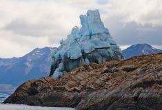 Allgemeine Ansicht des Perito Moreno Glacier argentinien landschaft Stockbild