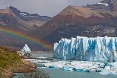 Allgemeine Ansicht des Perito Moreno Glacier argentinien landschaft Stockfotos