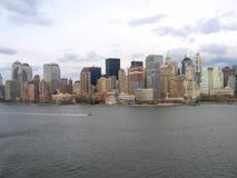 Allgemeine Ansicht New- York Citymanhattan Stockfoto