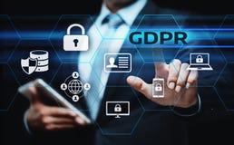 Allgemeine Daten-Schutz-vorgeschriebenes Geschäfts-Internet-Technologie-Konzept GDPR lizenzfreie stockfotos