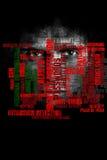 Allgemeine Datenverarbeitung und Internetsicherheits-Konzept lizenzfreie stockbilder