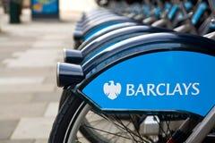 Allgemeine Fahrräder von London Lizenzfreie Stockbilder