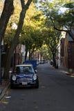 Allgemeine ruhige Straße Bostons Stockbilder