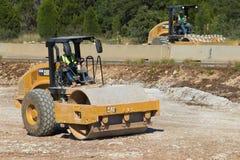 Allgemeine Straßenbauausrüstung das Gleiskettenfahrzeug CS56B Lizenzfreie Stockfotos