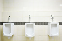 Allgemeine Toilette stockfotografie