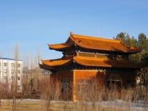 Allgemeine Toilette in Heihe (China) Lizenzfreies Stockbild