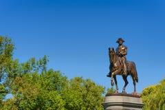 Allgemeiner Garten George Washington Statue Bostons Stockbild