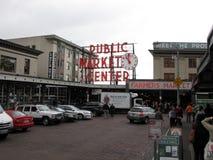 Allgemeiner Markt-Mitte Seattles stockfotos