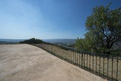 Allgemeiner Park in Roussillon, Frankreich Lizenzfreie Stockfotografie