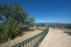 Allgemeiner Park in Roussillon, Frankreich Lizenzfreie Stockfotos