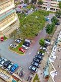 Allgemeiner Parkplatz Lizenzfreie Stockfotos