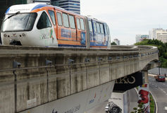 Allgemeiner Personenzug in Kuala Lumpur, Malaysia Stockfotografie