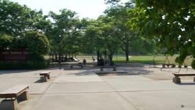 Allgemeiner Stadtpark (2 von 2) stock video footage