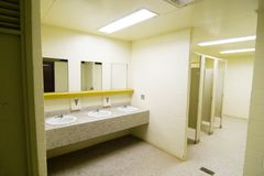Allgemeiner Waschraum lizenzfreies stockfoto