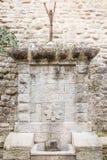Allgemeiner Wasserbrunnen Stockbild
