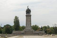 Allgemeines Monument auf Quadrat in Sofia, Bulgarien Stockbild