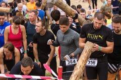 Allgemeines Rennen mit Hindernissen Lizenzfreies Stockfoto