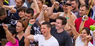 Allgemeines Rennen mit Hindernissen Lizenzfreie Stockfotos