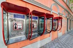Allgemeines Telefon in Novi Sad, Serbien lizenzfreies stockbild
