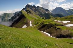 Allgäuer Alpen , Germany Stock Photo