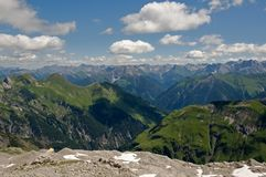 Allgäuer Alpen , Germany Stock Photography