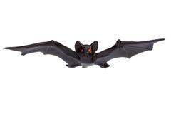Allhelgonaafton - Toy Bat - som isoleras på vit bakgrund Arkivbilder