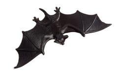 Allhelgonaafton - Toy Bat - som isoleras på vit bakgrund Royaltyfria Foton