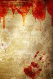 Allhelgonaaftonbakgrund med droppe av blod arkivbilder