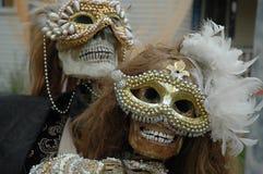 Allhelgonaaftonbröllop är vanligt ovanliga Royaltyfri Bild