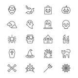 Allhelgonaaftonen gör symboler tunnare Arkivbilder